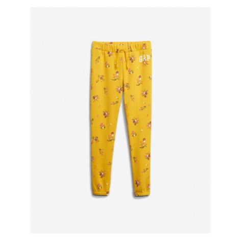 GAP Spodnie dresowe dziecięce Żółty