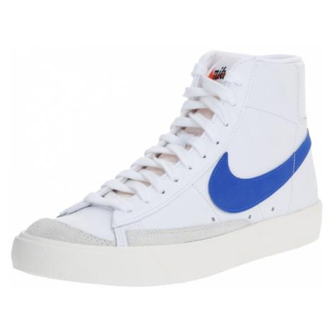 Nike Sportswear Trampki wysokie ' Blazer Mid '77 Vintage' niebieski / biały