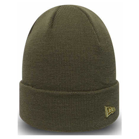 czapka New Era Metal Flag Knit - New Olive/Gold