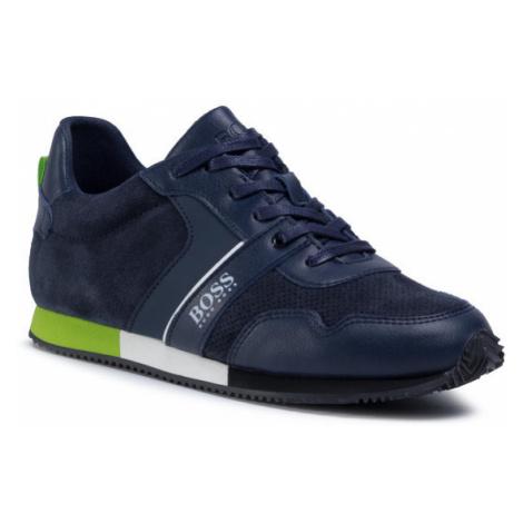 Boss Sneakersy J29225 D Granatowy Hugo Boss