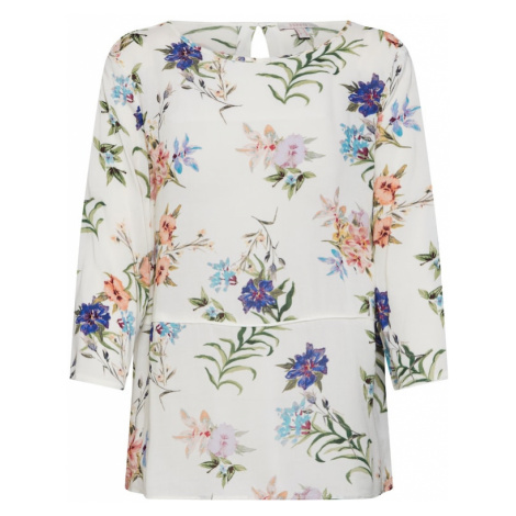 ESPRIT Bluzka mieszane kolory / biały