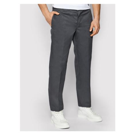 Dickies Spodnie materiałowe Straight Work DK0WP873 Szary Slim Fit