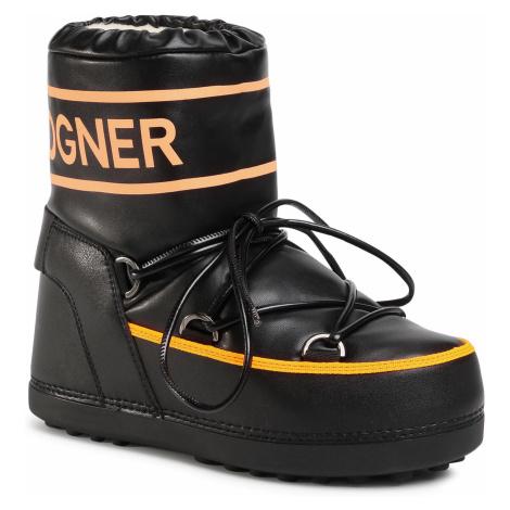 Śniegowce BOGNER - Trois Vallees 27 303-1594 Black/Orange 59