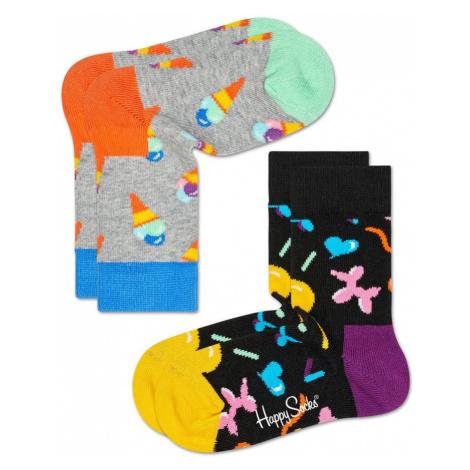 Happy Socks - Skarpetki dziecięce 15-34 (2-pak)
