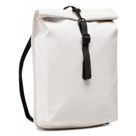 Rains Plecak Rolltop Mini 1361 Biały