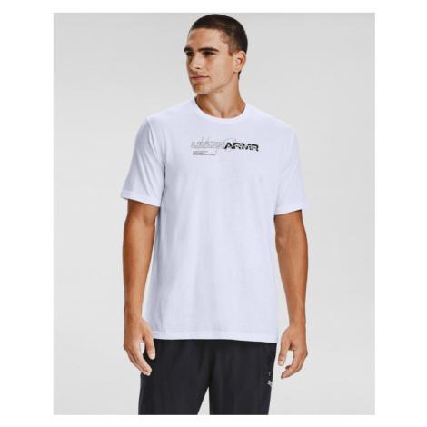 Under Armour Wordmark Koszulka Biały