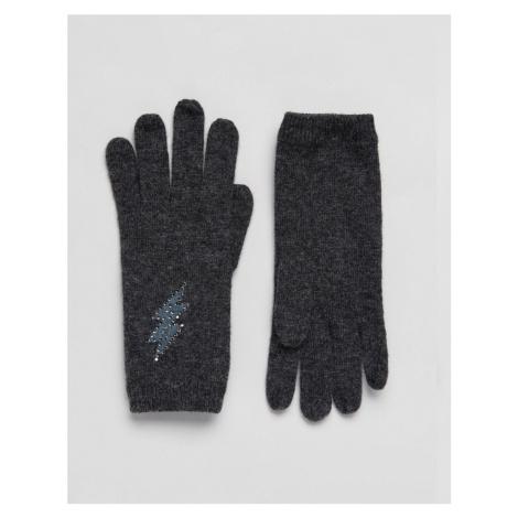 Alice Hannah Printed Lightning Bolt Glove
