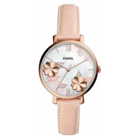 Zegarek FOSSIL - Jacqueline ES4671 Pink/Rose Gold