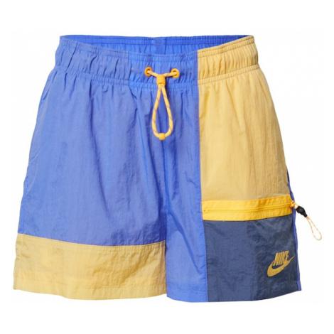 Nike Sportswear Spodnie żółty / fioletowy