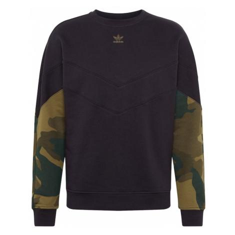 ADIDAS ORIGINALS Bluzka sportowa szmaragdowy / trzcina / oliwkowy