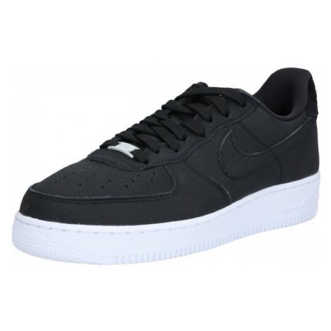 Nike Sportswear Trampki niskie 'Air Force 1 '07 Craft' czarny