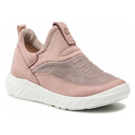 ECCO Sneakersy Sp.1 Lite K 71261202702 Różowy