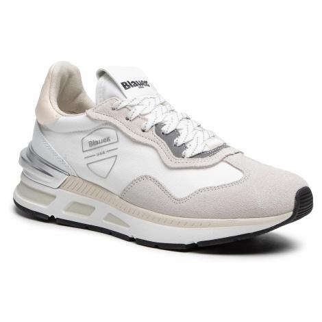 Sneakersy BLAUER - S1HILESXL02/NES White