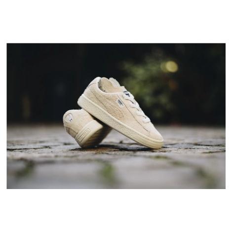 Buty dziecięce sneakersy Puma X Tinycottons Basket Furry 366193 01