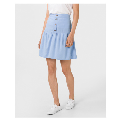 Vero Moda Helen Milo Spódnica Niebieski