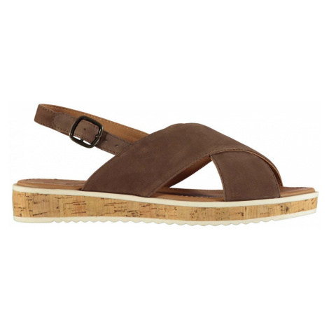 Kangol Fay Leather Ladies Wedges