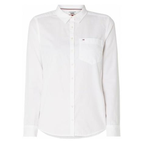 Bluzka koszulowa z wyhaftowanym logo Tommy Hilfiger