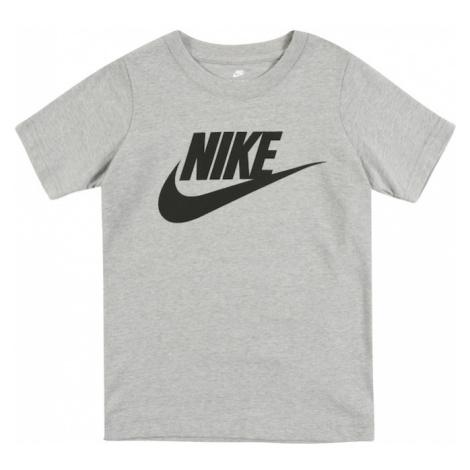 Nike Sportswear Koszulka 'NIKE FUTURA S/S TEE' nakrapiany szary