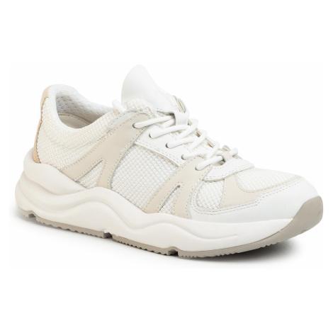 Sneakersy GEOX - D Topazio A D02GDA 01485 C1352 White Off White