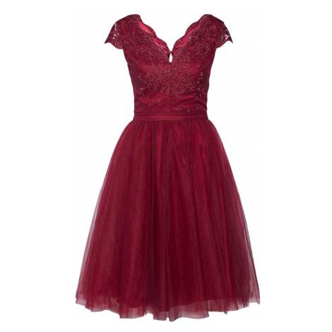 Chi Chi London Sukienka koktajlowa 'CHI CHI JOEY DRESS' burgund
