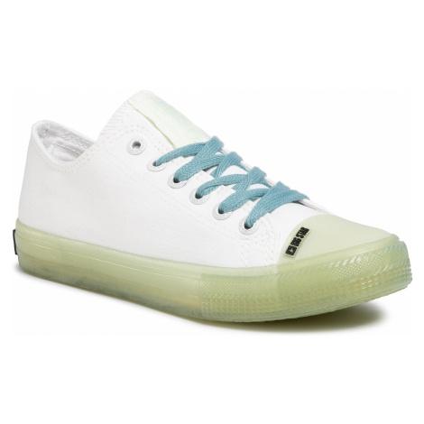 Trampki BIG STAR - FF274256 White/Green