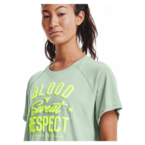 Under Armour Project Rock Bsr SS Tee Green