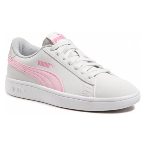 Puma Sneakersy Smash v2 Buck Jr 365182 27 Biały
