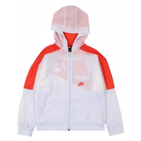 Nike Sportswear Kurtka przejściowa biały / czerwony