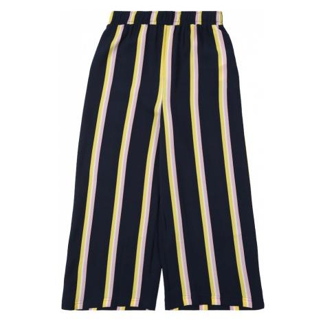 NAME IT Spodnie niebieski / żółty / różowy pudrowy
