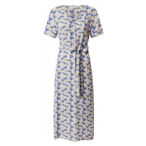 PIECES Sukienka biały / czarny / niebieski / żółty
