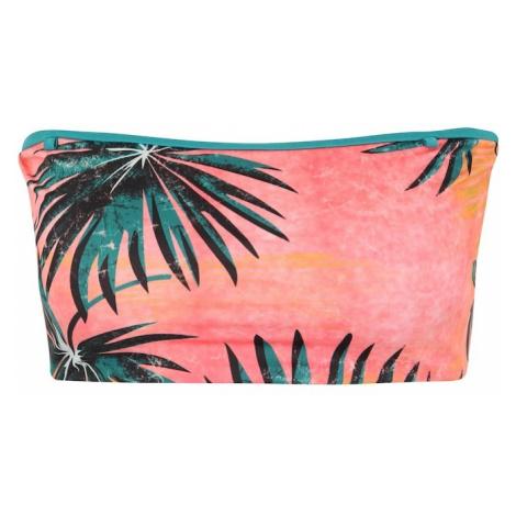 BILLABONG Sportowa góra bikini 'palm daze tube top' zielony / koralowy