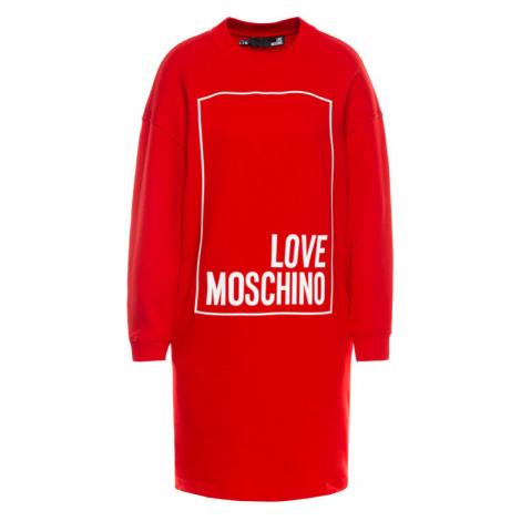 LOVE MOSCHINO Sukienka dzianinowa W5B2001M 4068 Regular Fit