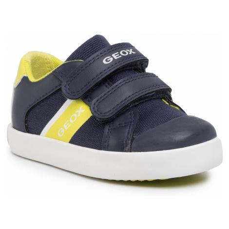 Sneakersy GEOX - B Gisli B. B B021NB 01054 C0749 M Navy/Lme