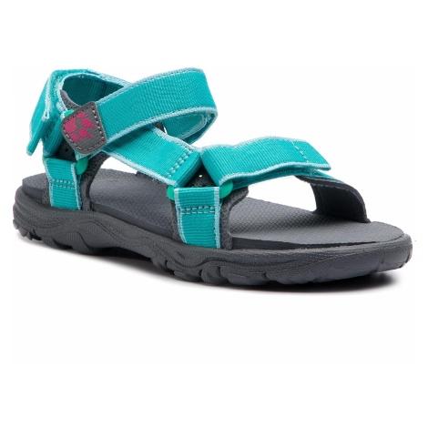 Sandały JACK WOLFSKIN - Seven Seas 2 Sandal G 4029961 S Aguamarine