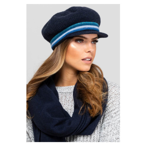 Kamea Woman's Hat K.19.043.12 Navy Blue