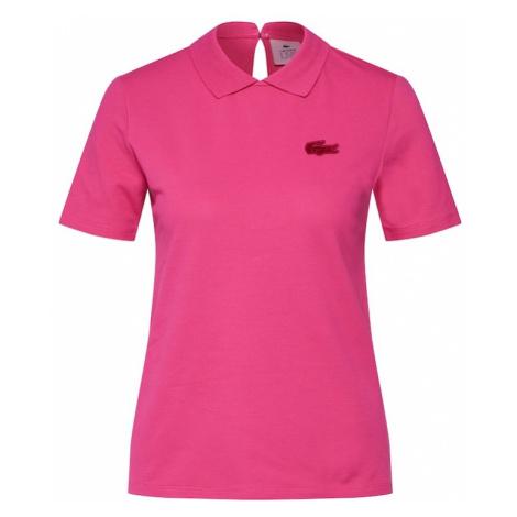 LACOSTE Koszulka różowy