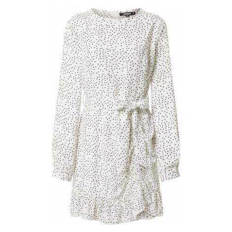 Missguided Sukienka koszulowa biały / czarny