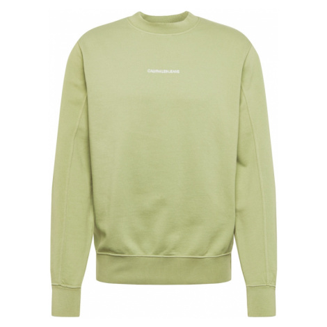 Calvin Klein Jeans Bluzka sportowa 'INSTIT' jasnozielony