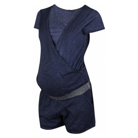LOVE2WAIT Kombinezon 'Playsuit Nursing Washed' niebieski
