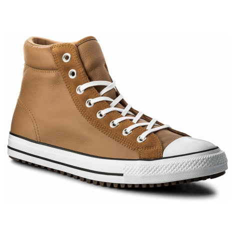 Trampki CONVERSE - Ctas Boot Pc Hi 157494C Raw Sugar/White