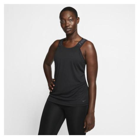 Damska koszulka bez rękawów Nike Pro - Czerń