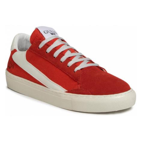 Guess Sneakersy Luiss Jr FJ6LUJ FAP12 Czerwony