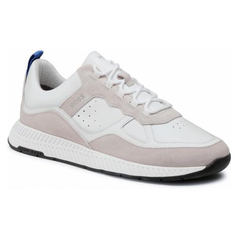 Sneakersy BOSS - Titanium 50440763 10214595 01 White 100 Hugo Boss