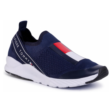 Sneakersy TOMMY HILFIGER - Low Cut Sneaker T3A4-30629-0702 S Blue 800