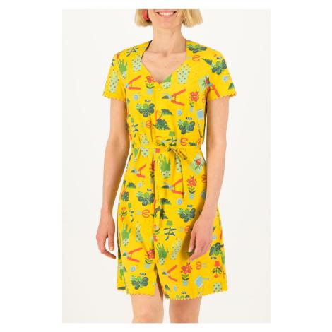 Blutsgeschwister żółty sukienka Fairy in The Garden Let Love Grow