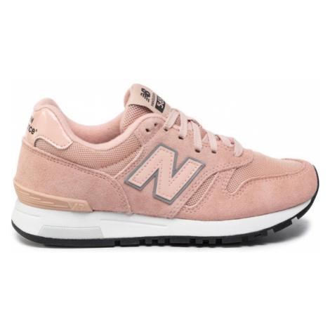 New Balance Sneakersy WL565BD Różowy