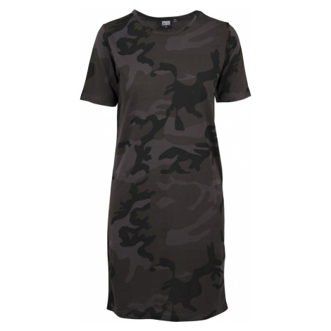 Urban Classics Sukienka czarny / khaki