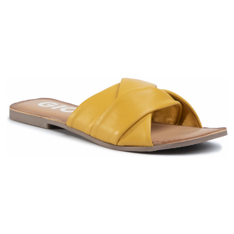 Klapki GIOSEPPO - Junius 59861 Mustard