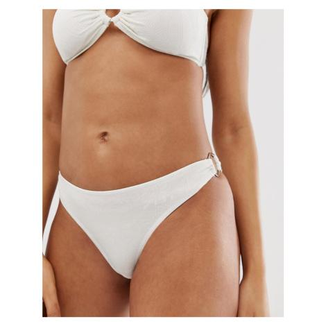Y.A.S textured buckle bikini bottoms