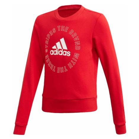ADIDAS PERFORMANCE Bluzka sportowa 'Bold' czerwony / biały